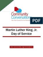 Community Conversations MLK Toolkit