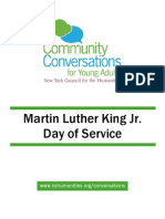 Community Conversations for Young Adults MLK Toolkit