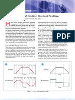 Mathematics of Motion Control Profiles