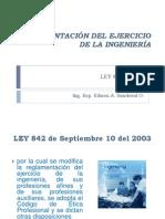 LEY 842-2003