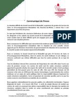Communiqué commun de la MF Paca et Paca SSAM 4 11