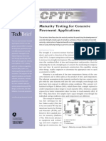 Maturity Testing for Concrete