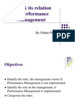 Risk & its relation with Performance management