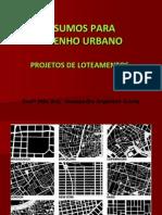 INSUMOS desenho urbano
