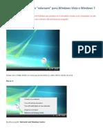 Configuracao Para Windows Vista e 7