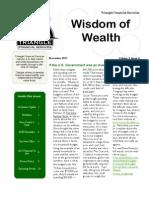 2011 3rd Qtr Newsletter