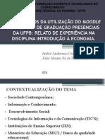 OS BENEFÍCIOS DA UTILIZAÇÃO DO MOODLE NOS CURSOS DE GRADUAÇÃO PRESENCIAIS DA UFPB