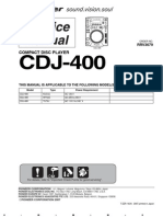 59429266 PIONEER CDJ 400 Service Manual