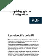 Pédagogie de l'intégration