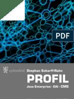 Systemfeld - Profil Stephan Scharff-Rahn - Java, Core Media, ActiveMQ, Camel, SOA, REST(1)