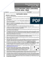 Paz4-Analista Judiciario (Area Judiciaria Prova Azul