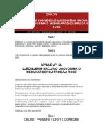 Konvencija Un o Ugovorima o Medjunarodnoj Prodaji Robe (1)