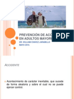 PREVENCIÓN DE ACCIDENTES EN ADULTOS MAYORES