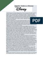 Curios Ida Des Sobre a Disney