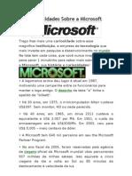 Curios Ida Des Sobre a Microsoft