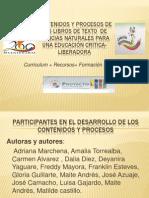 Presentación Libros Ciencias Naturales. Prof. Jose Azuaje