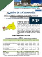 APUNTES de LA CONCERTACION 7ma Edicion - Avance Del Gasto Publico y La Inversion Enero - Setiembre - Region Pasco