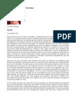 Message de La Fédération Galactique - Mike Quinsey - SaLuSa - 2 novembre 2011