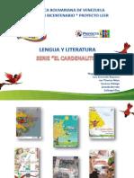 Prof Magaly Pimentel Libro de Lengua y Literatura