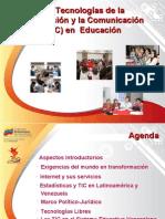 Las Tecnologías de la informacion y la comunicacion en educacion Prof. Franklin Albarran