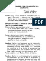 LECTIO MISIONERA CON EXPOSICIÓN DEL SANTÍSIMO