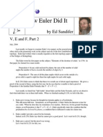 How Euler Did It 09 v E and F Part 2