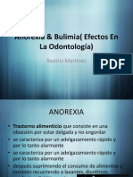 Anorexia & Bulimia( Efectos En La Odontología