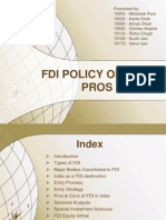 FDI in India-Pros & Cons