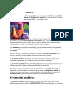 Geometria Plana y Analitica