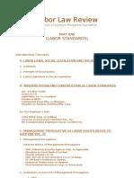 35075127 Labor Standards Outline