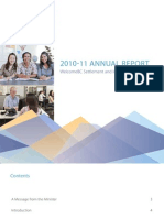 WelcomeBC Annual Report 2010/11