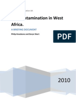 Soil Contamination in West Africa