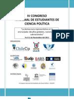 Programa IV Congreso CHILECIP Definitivo