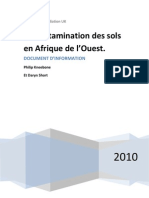 Soil Contamination in West Africa - French