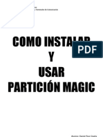 Manual del Partición Magic 8