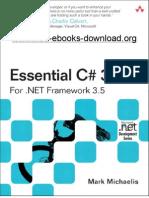 Essential CSharp 3 for Dot NET Framework 3 5
