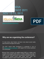 Social India Conference 2011 about Social Media & Networking.