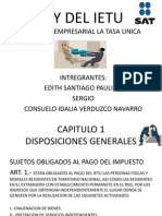 Ley Del Ietu Completa