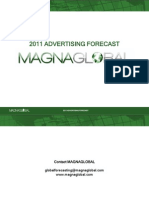 2011 Magnaglobal Advertising Forecast 110223203007 Phpapp02