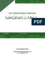 2011 Magnaglobal Advertising Forecast 110223203007 Phpapp02