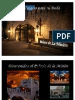 Boda Palacio de La Mision 2012