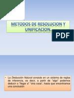 Metodos de Resolucion y Unificacion