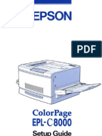 ColorPage EPL-C8000 Setup Guide