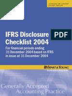 IFRSDiscChecklist