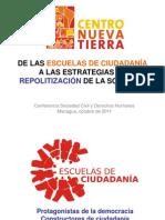 presentacion Esuelas de Ciudadanía 2011