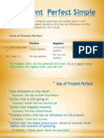 Present Perfect Simple (1)