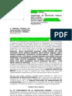DEMANDA Maestros CEND vs Evaluación 18 noviembre 2011