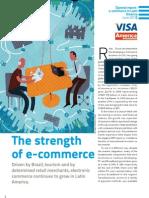 Visa America Economia eCommerce Study 2010 Insert 1