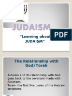 HUM 130 Wk 5 Day 7 Judaism Presentation