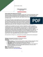 Public Policy Update 11-4-11